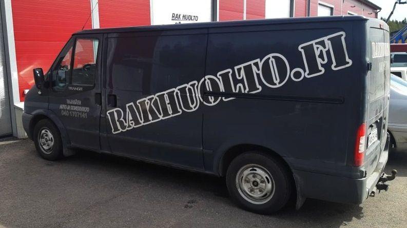 RakHuolto liikkuva työkonehuoltoauto