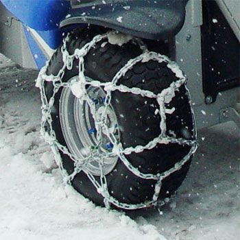 Snow chains for wheels 23×8.50-12, set of 2
