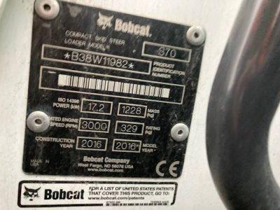 Bobcat S70 2016